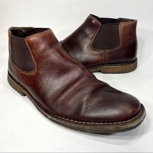Johnson & Murphy Sheep Skin Size 12 Chelsea Boots
